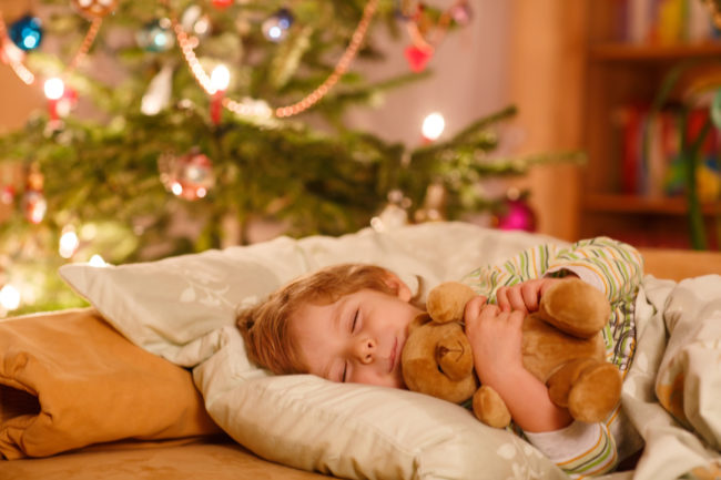 holiday anxiety in children
