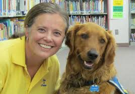 Jen VonLintel and Copper www.schooltherapydogs.org