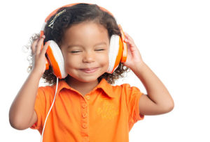 Listening to music comforts anxious children