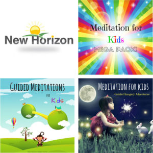 Meditations comforting anxious children